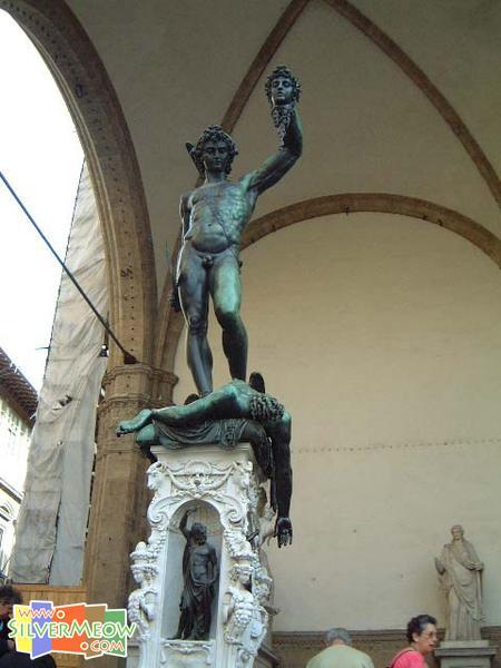 意大利佛罗伦斯 达西奥里亚广场 Piazza