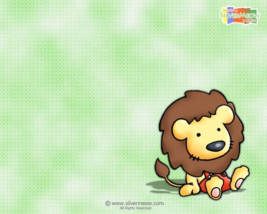 lion wallpaper. Little Lion Wallpaper