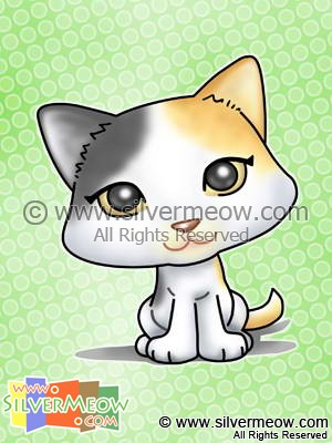 Animal Cartoon - Kitty