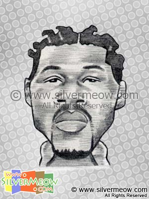 NBA Player Caricature - Ben Wallace