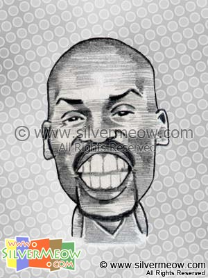 NBA Player Caricature - Gary Payton