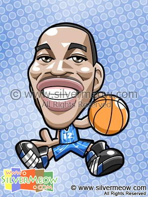 NBA Player Caricature - Dwight Howard