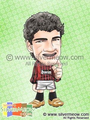 Soccer Player Caricature - Alexandre Pato (AC Milan)