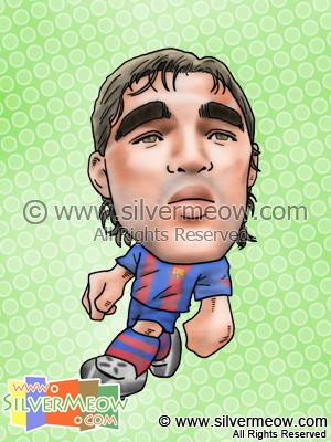 Soccer Player Caricature - Anderson Deco (Barcelona)