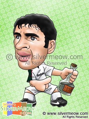 Soccer Player Caricature - Gary Speed (Bolton)