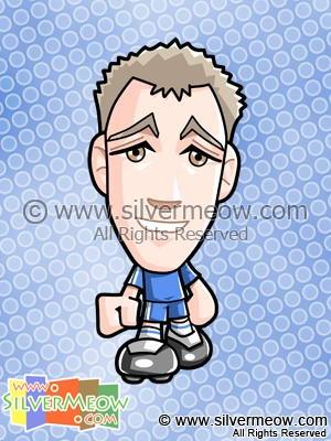Soccer Toon - John Terry (Chelsea)