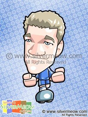 Soccer Toon - Michael Ballack (Chelsea)
