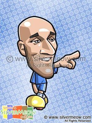 Soccer Toon - Nicolas Anelka (Chelsea)