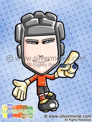 Soccer Toon - Petr Cech (Chelsea)