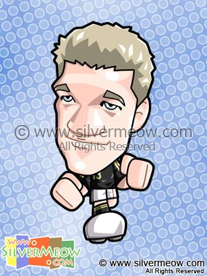 Soccer Toon - Michael Ballack (Germany)