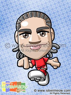 Soccer Toon - Glen Johnson (Liverpool)