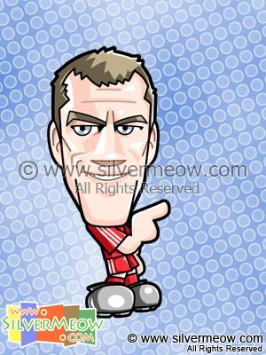 Soccer Toon - Jamie Carragher (Liverpool)