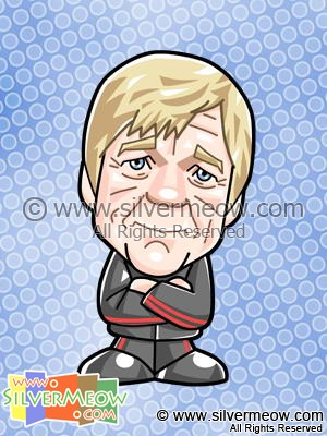 Soccer Toon - Kenny Dalglish (Liverpool)