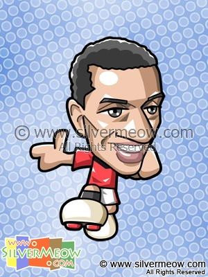 Soccer Toon - Nani (Manchester United)