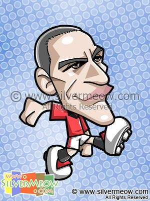 Soccer Toon - Rio Ferdinand (Manchester United)