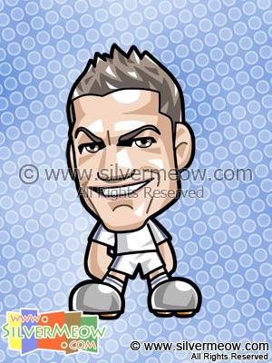 Soccer Toon - Cristiano Ronaldo (Real Madrid)